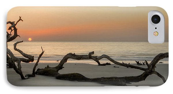 Beach Art Cropped IPhone Case