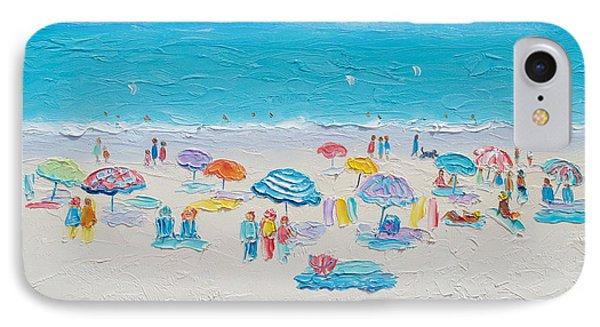 Beach Art - Fun In The Sun IPhone Case by Jan Matson