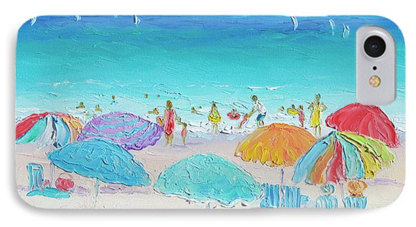 Beach Art - Summer IPhone Case by Jan Matson