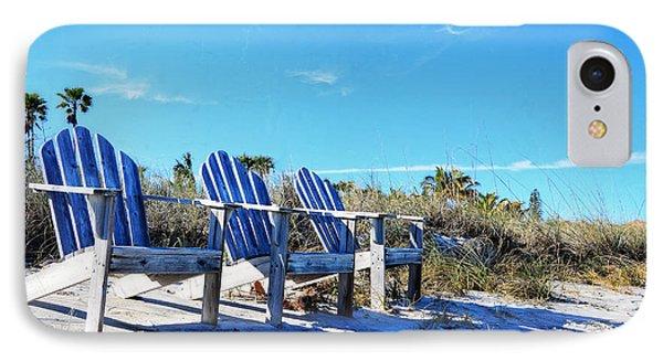 Beach Art - Waiting For Friends - Sharon Cummings IPhone Case
