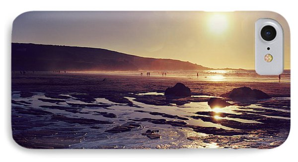 IPhone Case featuring the photograph Beach At Sunset by Lyn Randle