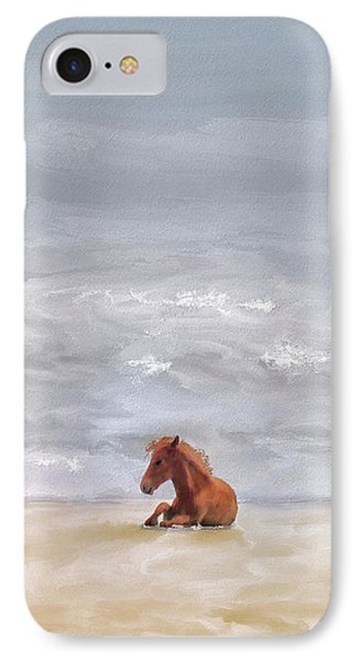 IPhone Case featuring the photograph Beach Baby by Lois Bryan