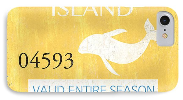 Beach Badge Long Beach Island IPhone Case