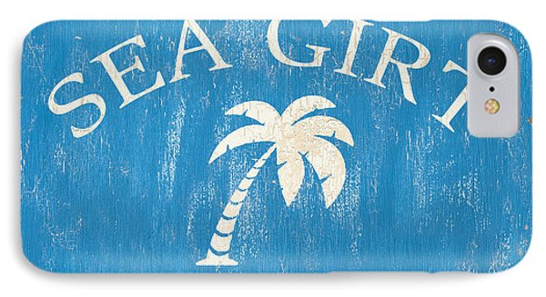 Beach Badge Sea Girt IPhone Case by Debbie DeWitt
