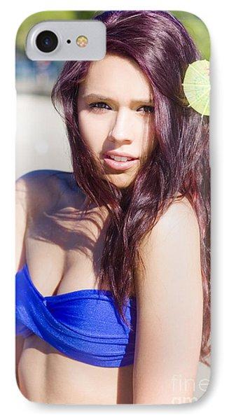Beach Beauty IPhone Case by Jorgo Photography - Wall Art Gallery