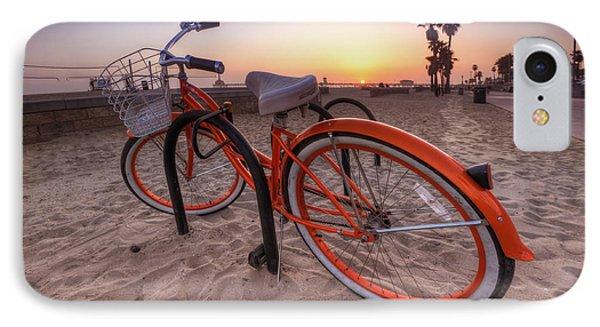 Beach Bike IPhone Case by Yhun Suarez