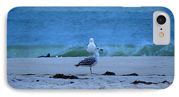 IPhone Case featuring the photograph Beach Birds by  Newwwman