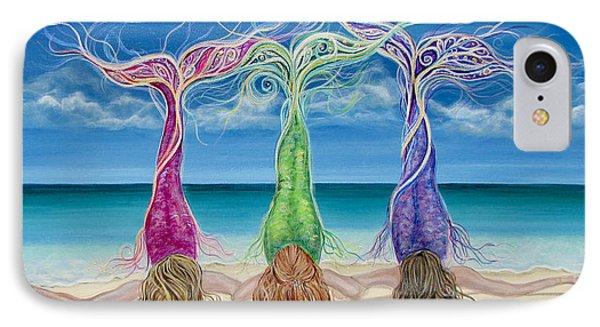 Beach Bliss Buddies IPhone Case by Angel Fritz