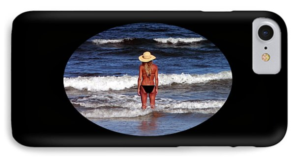 IPhone Case featuring the photograph Beach Blonde .png by Al Powell Photography USA