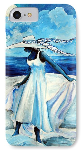 IPhone Case featuring the painting Beach Blues by Diane Britton Dunham