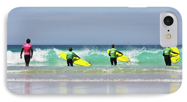 IPhone Case featuring the photograph Beach Boys Go Surfing by Terri Waters