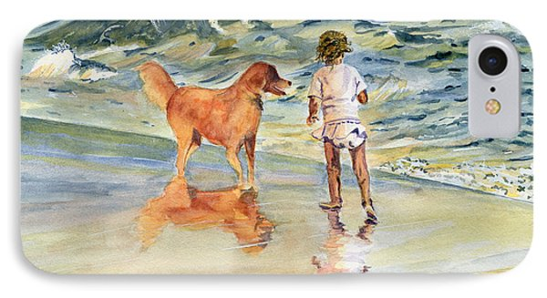 Beach Buddies IPhone Case by Melly Terpening
