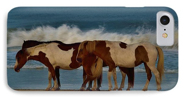 Beach Bum Ponies IPhone Case