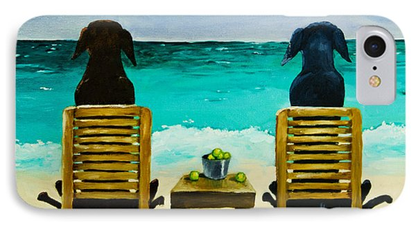 Beach Bums Phone Case by Roger Wedegis