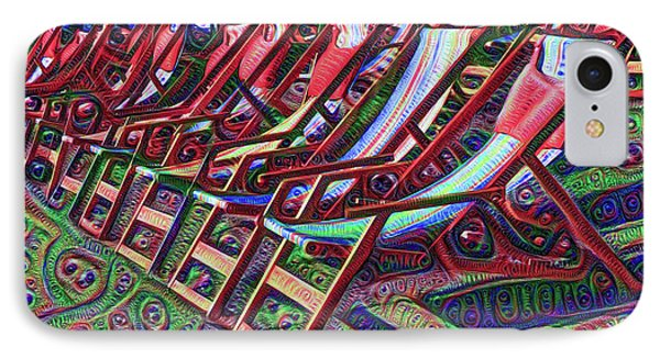 Beach Chairs IPhone Case by Bill Cannon