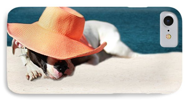 IPhone Case featuring the photograph Beach Day For Bubba by Shelley Neff