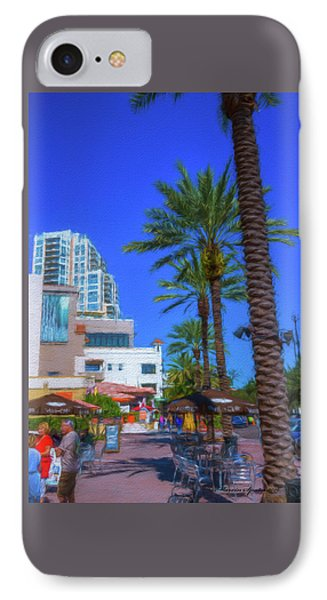 Beach Dr. St. Petersburg Florida IPhone Case