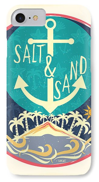 Beach IPhone 7 Case by Famenxt DB