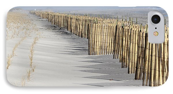 Beach Fence Shirley New York IPhone Case