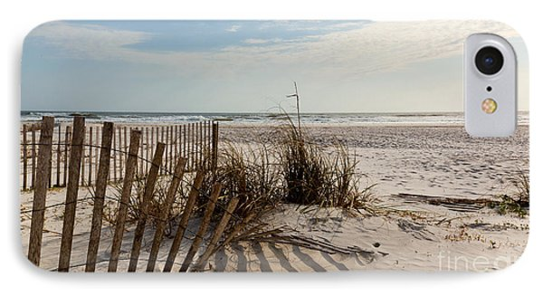 Beach Fence St Augustine Florida IPhone Case by Michelle Wiarda