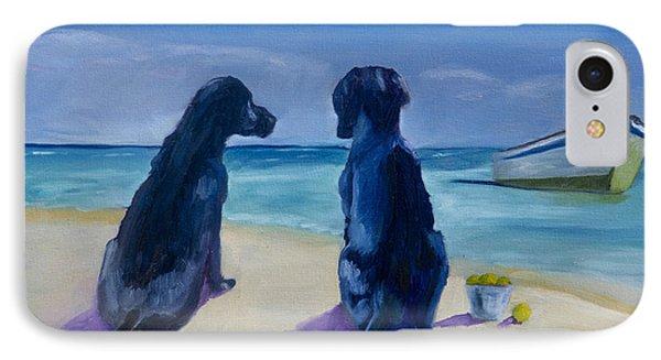 Beach Girls Phone Case by Roger Wedegis