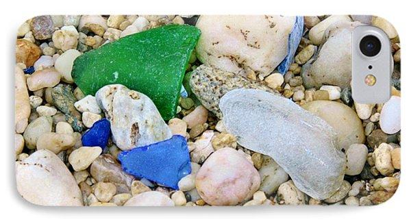 IPhone Case featuring the photograph Beach Glass by Karen Silvestri