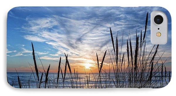 IPhone Case featuring the photograph Beach Grass by Delphimages Photo Creations