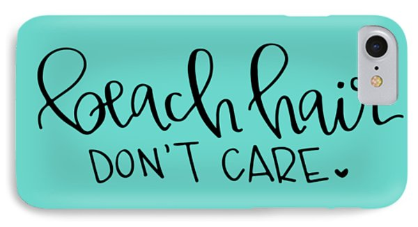 Beach Hair IPhone Case by Elizabeth Taylor