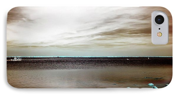 Beach Haven Bay Infrared IPhone Case by John Rizzuto