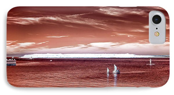 Beach Haven Reds IPhone Case by John Rizzuto
