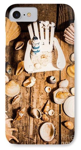 Beach House Artwork IPhone Case by Jorgo Photography - Wall Art Gallery