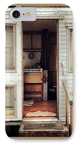 IPhone Case featuring the photograph Camping Trailer by Susan Parish