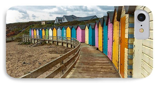 IPhone Case featuring the photograph Beach Huts by RKAB Works