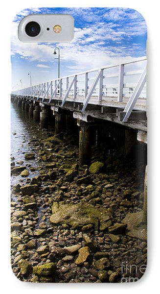 Beach Jetty IPhone Case by Jorgo Photography - Wall Art Gallery