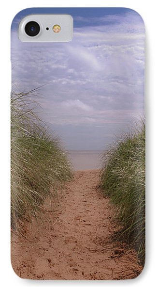 IPhone Case featuring the photograph Beach Memories by Heidi Hermes