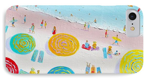 Beach Painting - The Simple Life IPhone Case