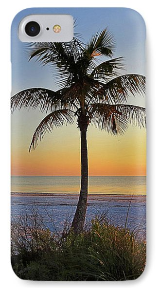 Beach Palm IPhone Case by Chris Andruskiewicz