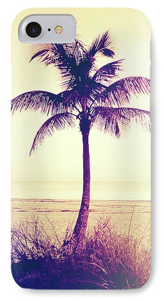 Beach Palm Summer IPhone Case by Chris Andruskiewicz