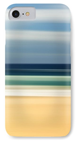 Beach iPhone 7 Case - Beach Pastels by Az Jackson