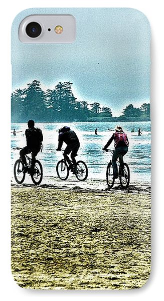 Beach Ride IPhone Case by Alicia Kent