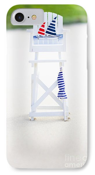 Beach Safety IPhone Case by Jorgo Photography - Wall Art Gallery