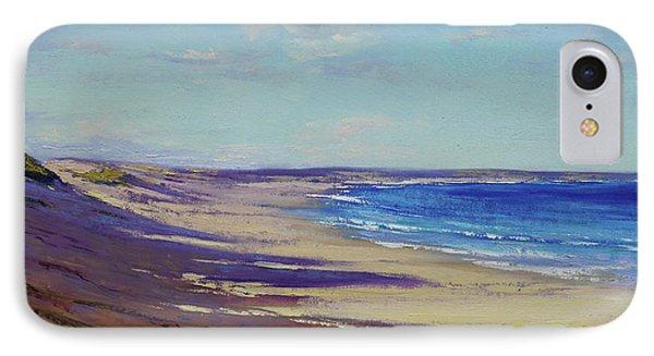 Impressionism iPhone 7 Case - Beach Sand Shadows by Graham Gercken