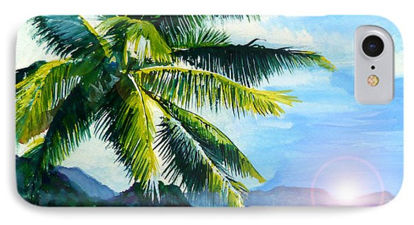 Beach Scene IPhone Case by Curtiss Shaffer