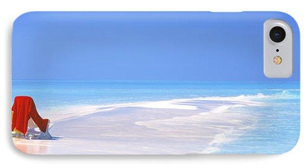 Beach Scenic The Maldives IPhone Case