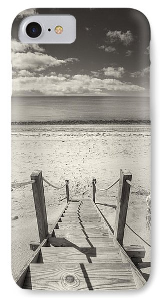 Beach Stairs Wellfleet Phone Case by Dapixara Art