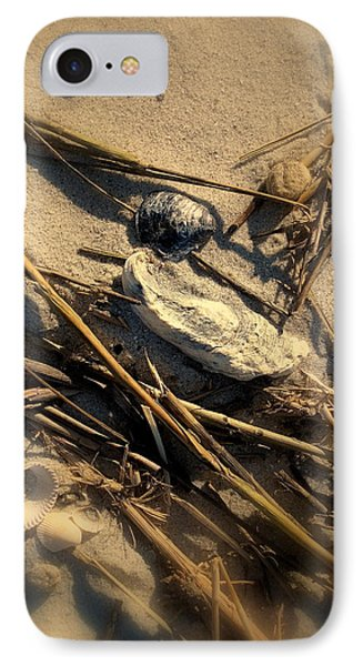Beach Still Life Phone Case by Susanne Van Hulst