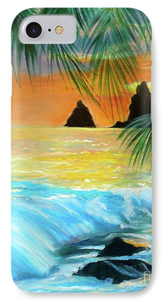 Beach Sunset IPhone Case by Jenny Lee