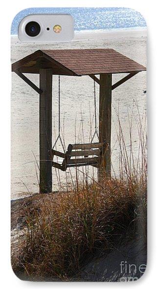 Beach Swing IPhone Case by Carol Groenen