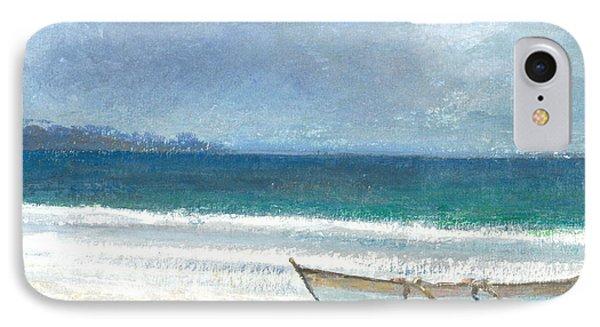 Beach Thalassa IPhone Case by Lincoln Seligman