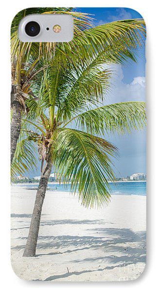 Beach Time In Turks And Caicos IPhone Case by Mike Ste Marie